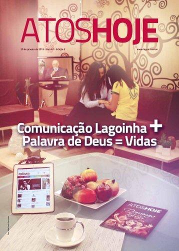 Atos Hoje edição 3 - Lagoinha.com