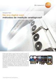 Na era digital com métodos de medição analógicos? - TestoSites