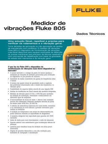 Fluke 805 Vibration Meter - Farnell