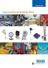 Instrumentos de Medição WIKA Clique para o ... - Wika do Brasil