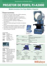 Equipamento de Medição Ótica PJ-A3000 - Mitutoyo