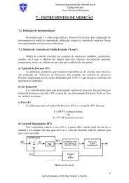 7 – INSTRUMENTOS DE MEDIÇÃO - colégio pelicano
