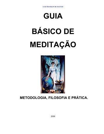 GUIA BÁSICO DE MEDITAÇÃO - Grupo PAS