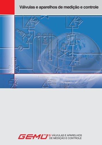 Válvulas e aparelhos de medição e controle - Gemue.com.br