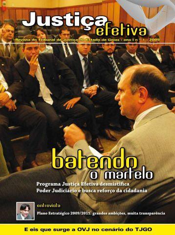 29-07-2009 - Revista Justiça Efetiva - Tribunal de Justiça do Estado ...