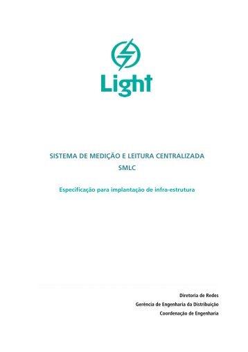 SISTEMA DE MEDIÇÃO E LEITURA CENTRALIZADA SMLC - Light
