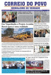 prefeitura municipal de trombas - Jornal Correio do Povo Goiás