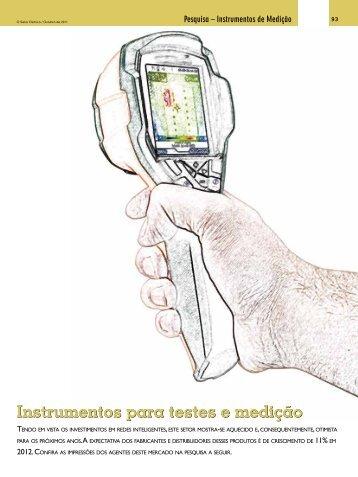 Instrumentos para testes e medição - Revista O Setor Elétrico