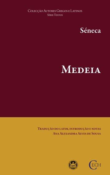 Séneca. Medeia - Universidade de Coimbra