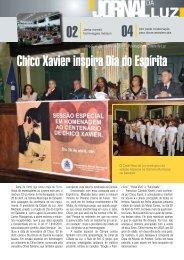 Chico Xavier inspira Dia do Espírita - Cidade da Luz