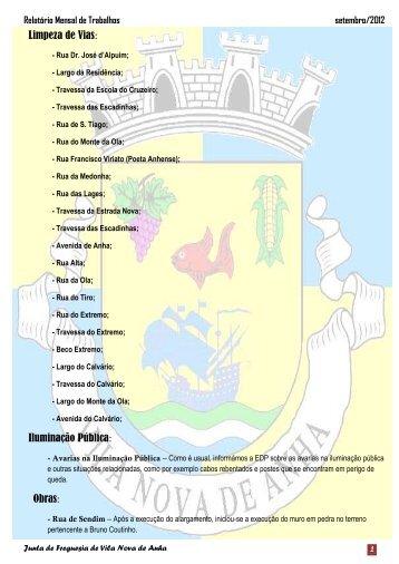 Setembro - Freguesia de Vila Nova de Anha
