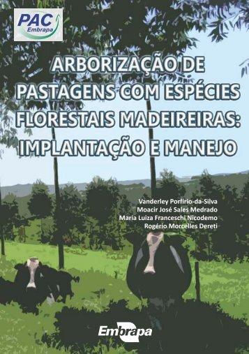 Arborização de Pastagens com Espécies Florestais Madeireiras
