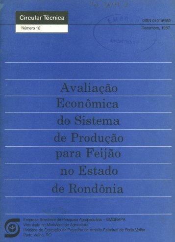 Untitled - Embrapa Rondônia