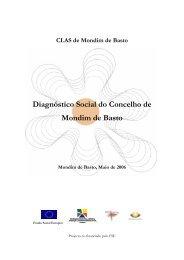CLAS de Mondim de Basto Diagnóstico Social do Concelho de ...