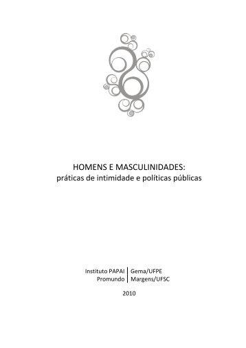 HOMENS E MASCULINIDADES: - Unfpa