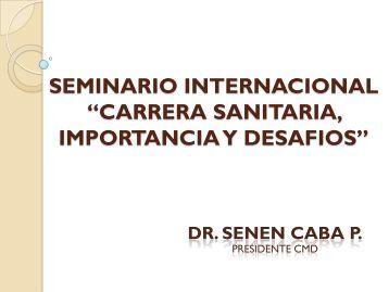 carrera sanitaria, importancia y desafios - Ministerio de Salud