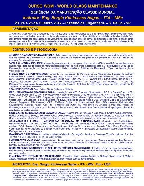 CURSO FACILITADORES MPT.pdf - Manutenção
