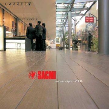 AnReport 2004 - Sacmi