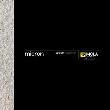 micron - Cooperativa Ceramica d'Imola