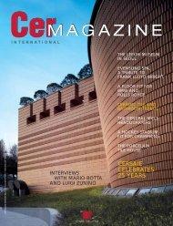 Cer Magazine International n.20 - Tilmar Ceramics