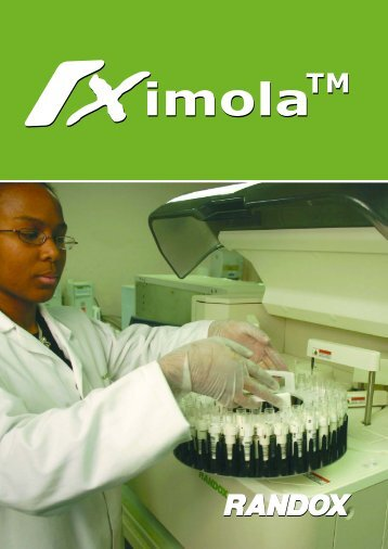 The RX imola clinical analyser