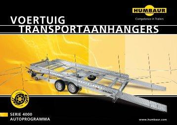 VOERTUIG TRANSPORTAANHANGERS - Heudra Aanhangwagens