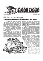 English to Hiligaynon Dictionary - Philippine Culture
