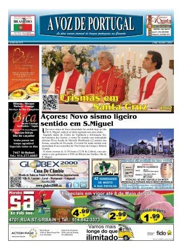 Crismas em Santa Cruz P.12 - A Voz de Portugal