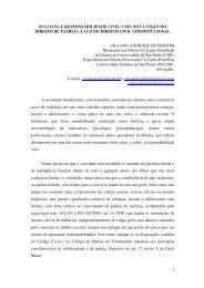 bullying e responsabilidade civil: uma nova visão ... - Ibdfamsp.com.br
