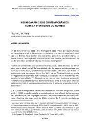 SOBRE A ETERNIDADE DO HOMEM [154-166] Alvaro L. M. Valls