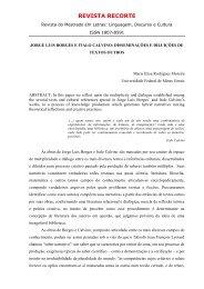 JORGE LUIS BORGES E ITALO CALVINO ... - UninCor