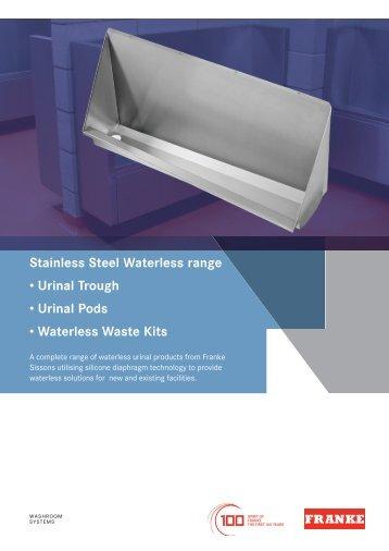 41662 Franke Waterless Urinal brochure