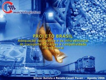 PROJETO BRASIL PROJETO BRASIL