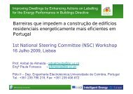 1st National Steering Committee (NSC) Workshop 16 ... - Ideal-EPBD