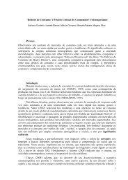 'Delírios de Consumo' e Feições Críticas do Consumidor ...