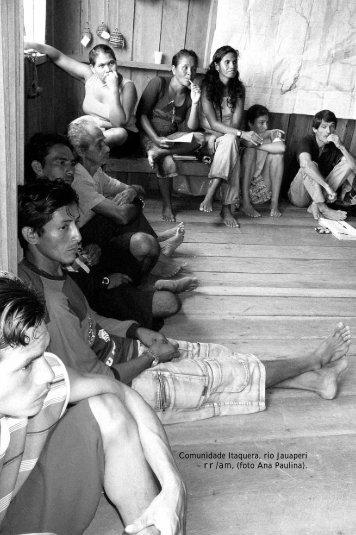 Comunidade Itaquera, rio Jauaperi - Nova Cartografia Social da ...
