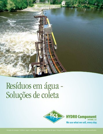 Resíduos em água - Hydro Component Systems, LLC