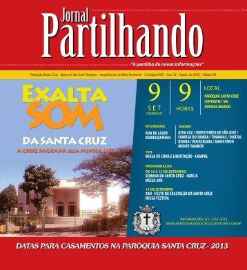 Edição 83 - Agosto - paroquiasantacruzcontagem.com.br