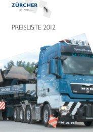 3-Achs LKW - Zürcher Kies und Transport AG