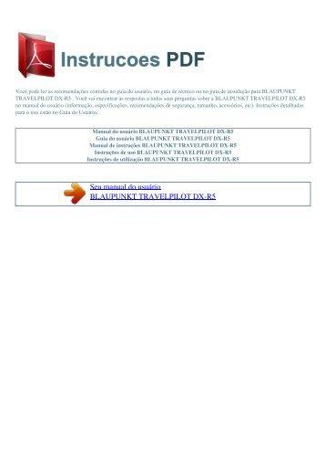 Garmin fishfinder 85 manual