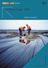 Jaarrapportage 2005 - Inspectie Leefomgeving en Transport