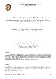 Caracterização Geológico-Geotécnica do Movimento de Massa ...