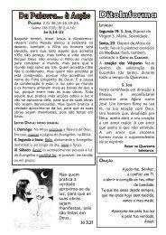 Frei Dito 18 DE MARÇO 2012.pdf - Franciscanos Conventuais de ...