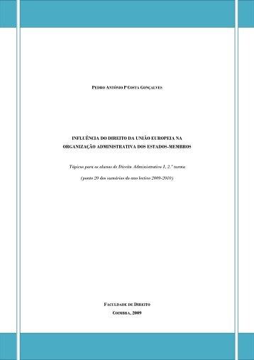 A Influência do Direito da União Europeia na
