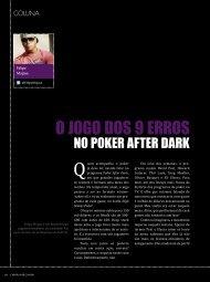 O jogo dos 9 erros no Poker After Dark - Felipe Mojave