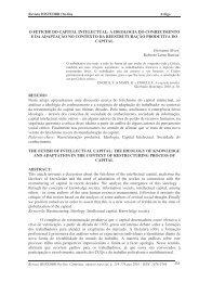 O FETICHE DO CAPITAL INTELECTUAL: A IDEOLOGIA ... - histedbr