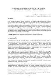 Gestão por processos - Artigo Científico