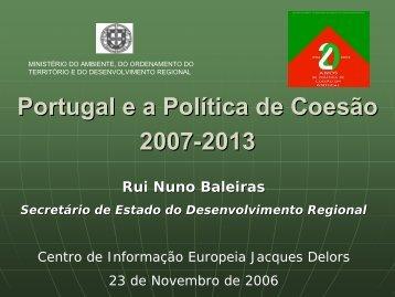 Rui Nuno Baleiras - Instituto de Gestão do Fundo Social Europeu