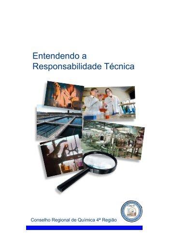 Entendendo a Responsabilidade Técnica - Conselho Regional de ...