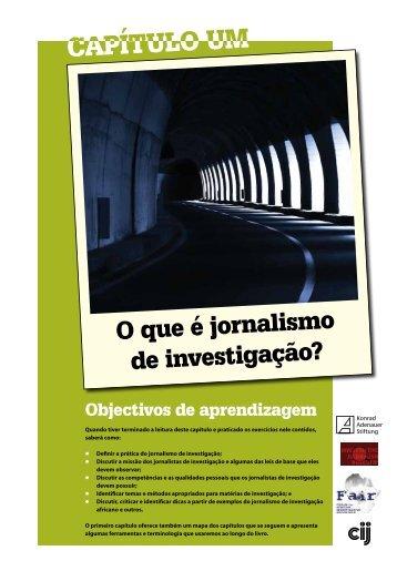 O que é jornalismo de investigação?